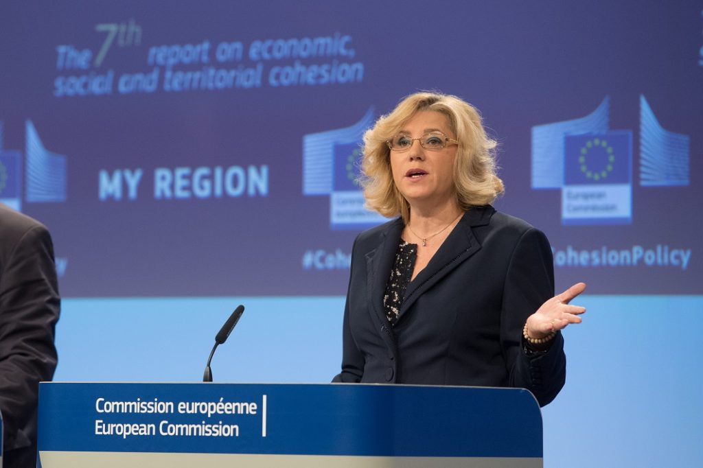 Regioni, coesione, Italia