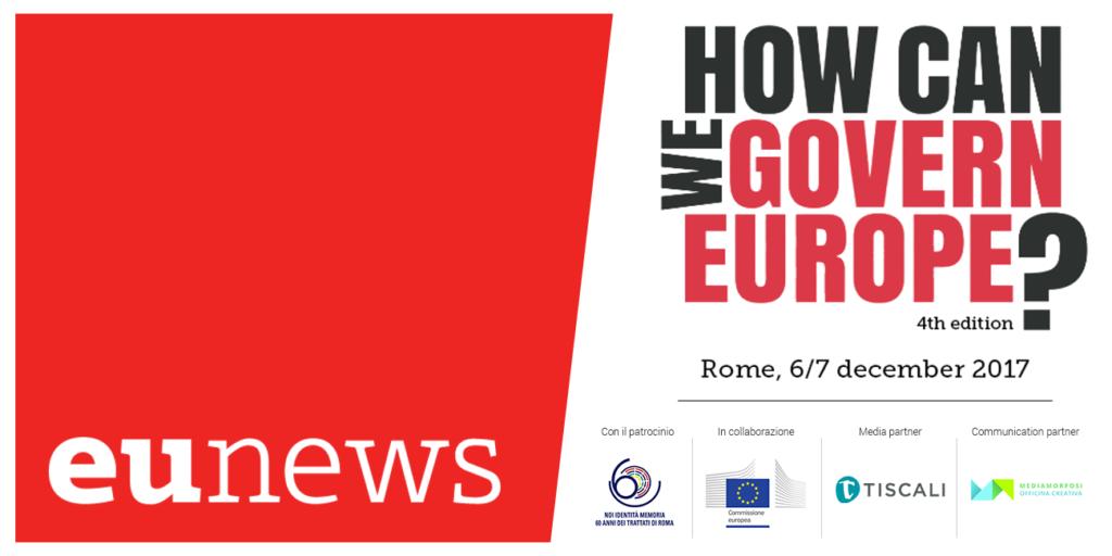 """Torna """"How Can We Govern Europe?"""". Quest'anno tra palazzo Chigi e Campidoglio"""