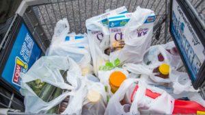 buste di plastica, tassa, sacchetti, confezioni