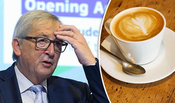 """Per Juncker l'Ue di oggi è come un bar italiano: """"Ognuno ordina un caffè diverso"""""""