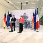 Macron preme per il rilancio dell'Ue, ma Merkel temporeggia