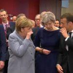 Merkel, Macron e May uniti chiedono a Trump di fermare i dazi