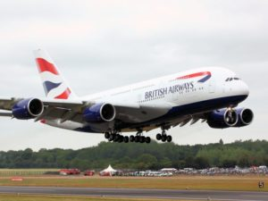 Brexit,British airways, voli
