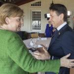 Conte chiede a Merkel sostegno su migranti e reddito di cittadinanza