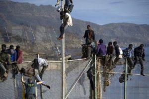Ceuta Melilla recinzione