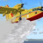 Dall'Italia due Canadair per spegnere gli incendi boschivi in Svezia