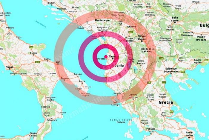 Cartina Puglia Albania.Terremoto L Albania Chiama L Europa Che E Pronta A Rispondere Eunews