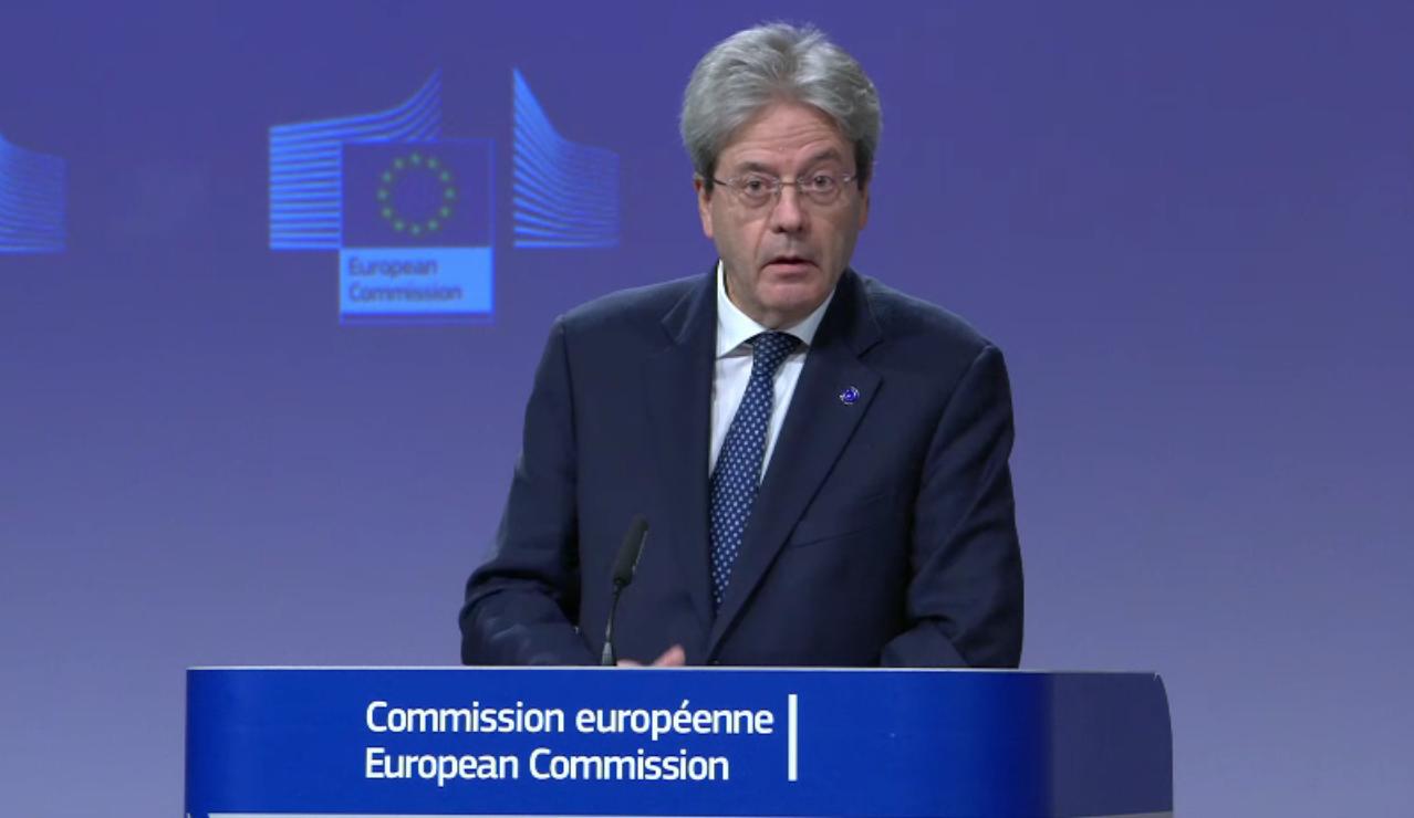 Risultato immagini per paolo gentiloni commissione europea