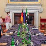 Italia e Germania, obiettivi comuni per far ripartire l'Europa coraggiosa e solidale