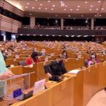 Merkel: L'Europa si rilancia con il sostegno del Parlamento europeo