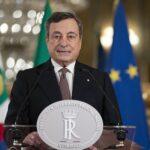 Draghi al Quirinale presenta i ministri. Governo molto politico, con alcuni tecnici