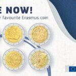 Erasmus compie 35 anni. Europei al voto per scegliere la moneta celebrativa