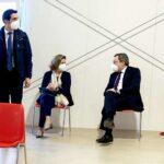 Mario Draghi si è vaccinato con AstraZeneca