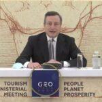Turismo cruciale per la ripresa globale. L'agenda del G20 per ridare fiducia. Draghi: Italia pronta a ridarvi il benvenuto