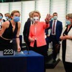 Stato dell'Unione, standing ovation del Parlamento UE per