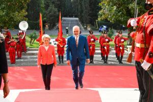 Ursula von der leyen albania