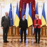 L'Unione Europea stringe i rapporti con l'Ucraina per affrontare la crisi energetica e la minaccia russa