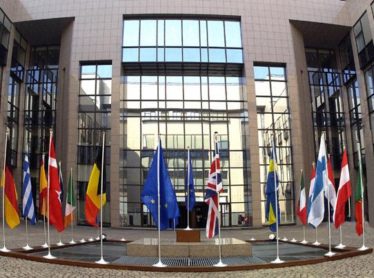 La sede del Consiglio Europeo a Bruxelles