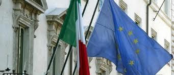 Bandiere Italia Ue