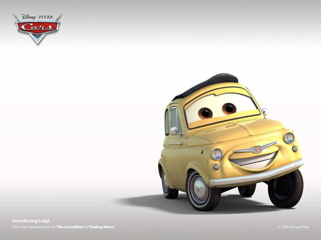 Disney Pixar Cars - luigi