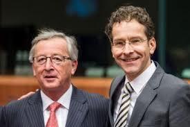 Juncker e Dijsselbloem
