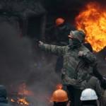 Impari scontri a Kiev