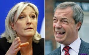 Le Pen Farage