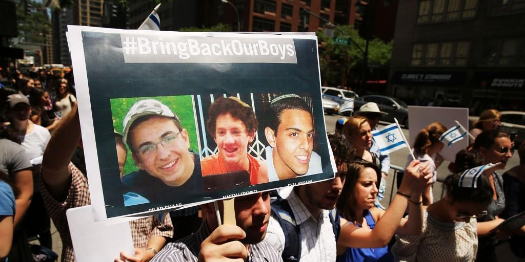 Ragazzi israeliani rapiti