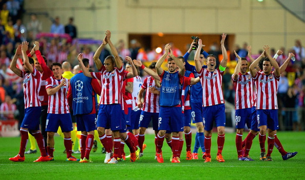 Club Atletico de Madrid v FC Barcelona - UEFA Champions League Quarter Final