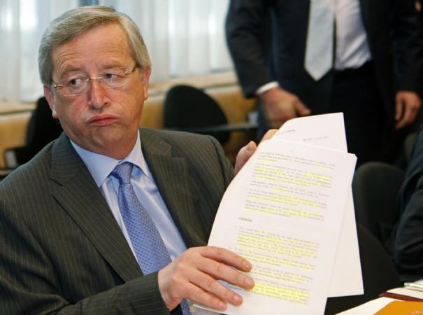 Juncker stufo