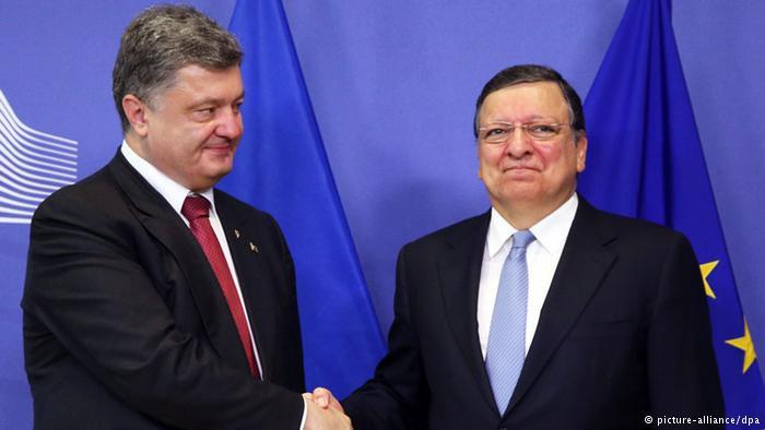Poroshenko e Barroso