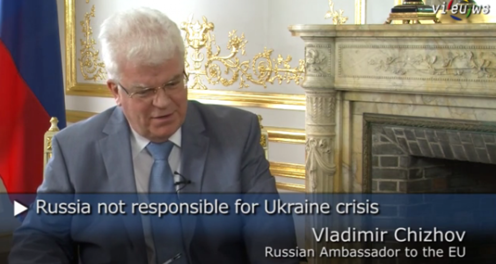 Vladimir Chizhov, Rappresentante permanente della Federazione russa presso l'Unione europea