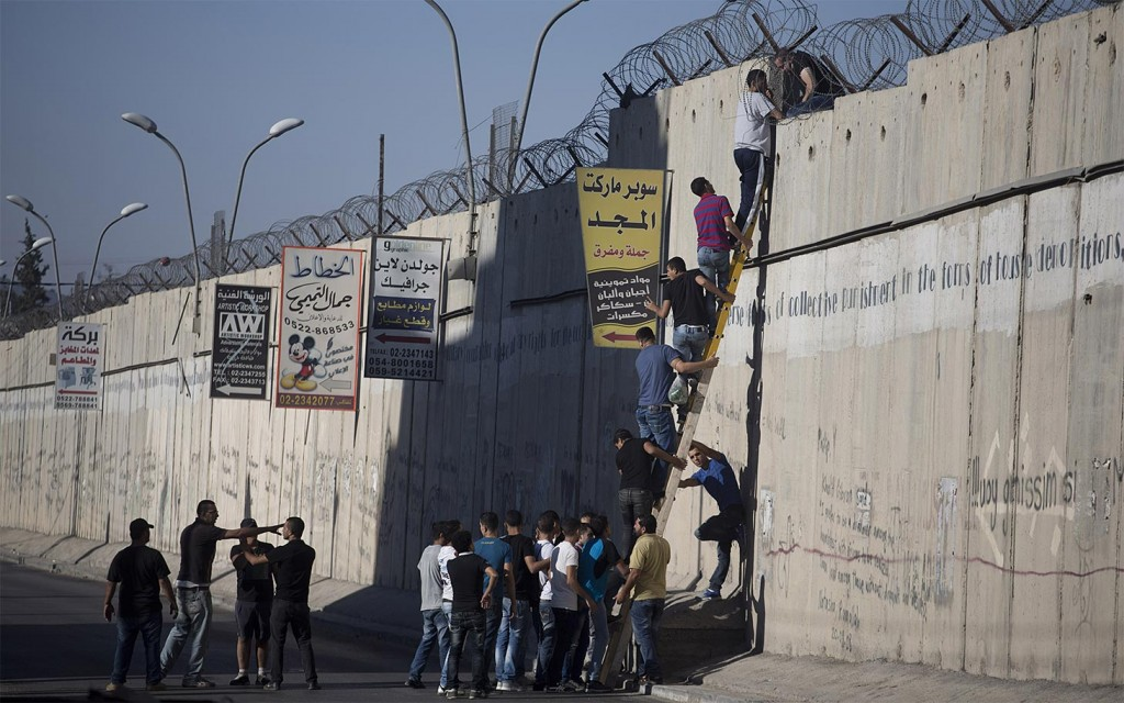 Third Friday of Ramadan, A Ram, West Bank, 26.7.2013