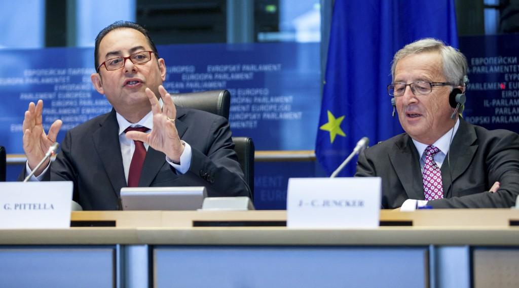 Pittella e Juncker