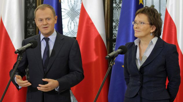 Donald Tusk e Ewa Kopacz