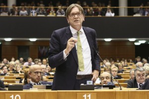 Guy Verhofstadt - foto Parlamento europeo