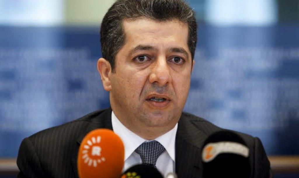 Masrour Barzani al Parlamento europeo