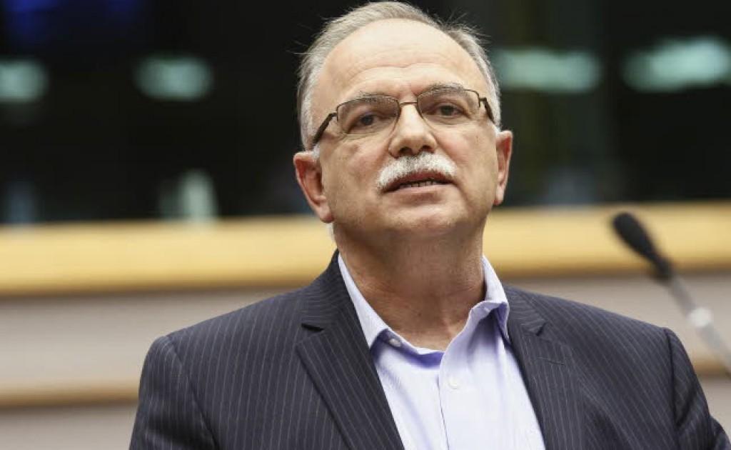 Dimitrios Papadimoulis, vice presidente del Parlamento europeo per Syriza
