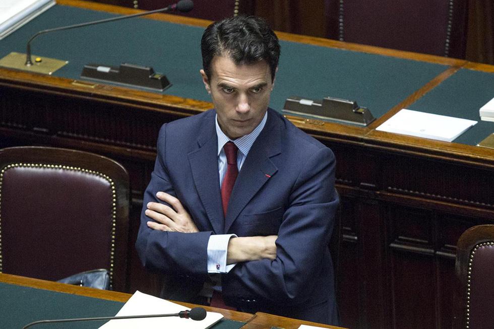 Sandro Gozi alla Camera (Roberto Monaldo/LaPresse)