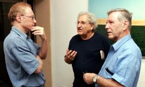 I tre scrittori israeliani Grossman, Yehoshua e Oz