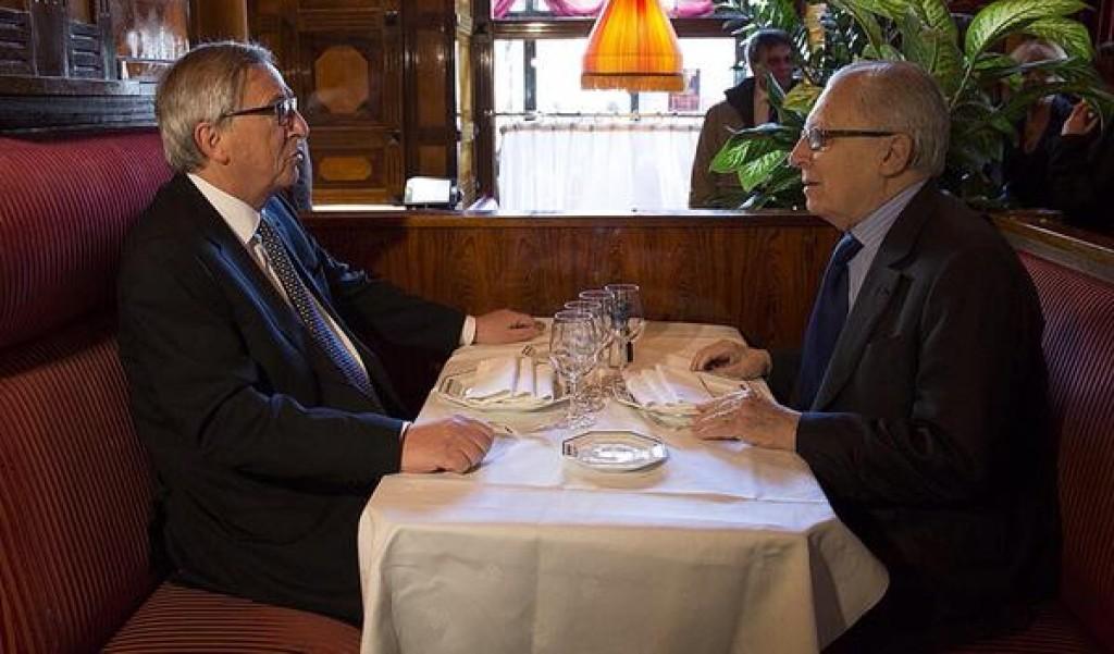 Juncker e Delors