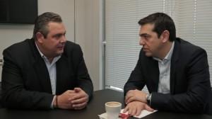 Kammenos e Tsipras