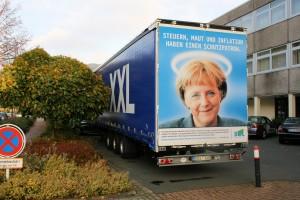 Merkel protezionismo camionisti