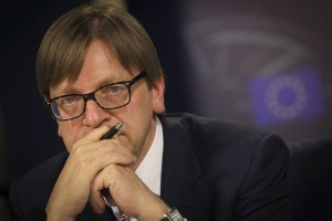 Parlamento europeo, pittella , tajani, verhofstadt