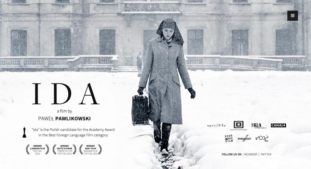 Ida, la locandina