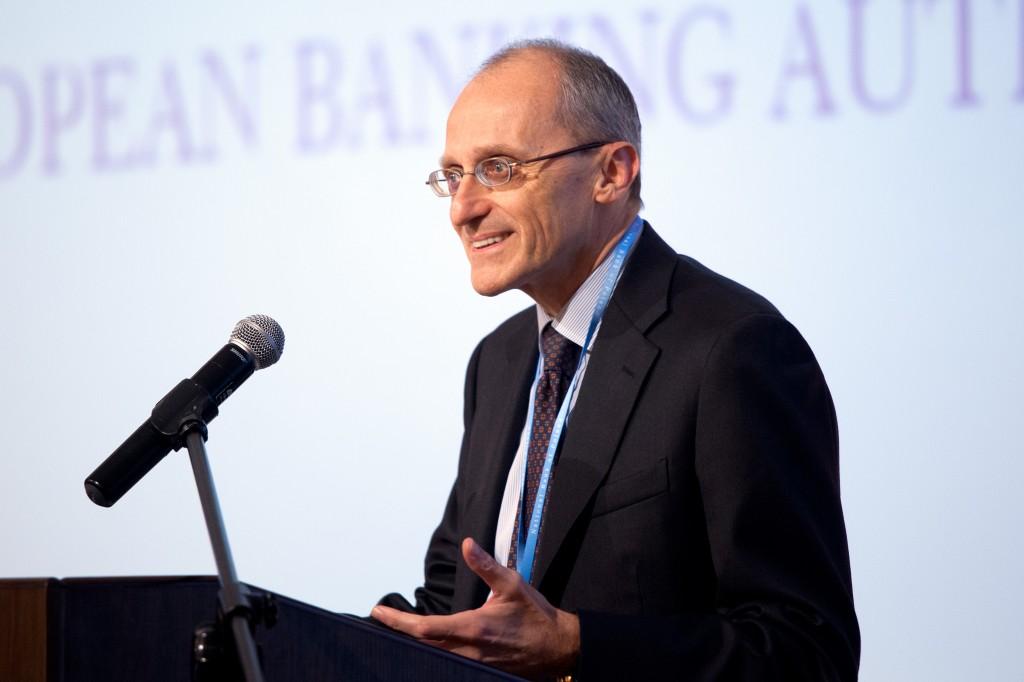 Il presidente dell'Autorità bancaria europea Andrea Enria