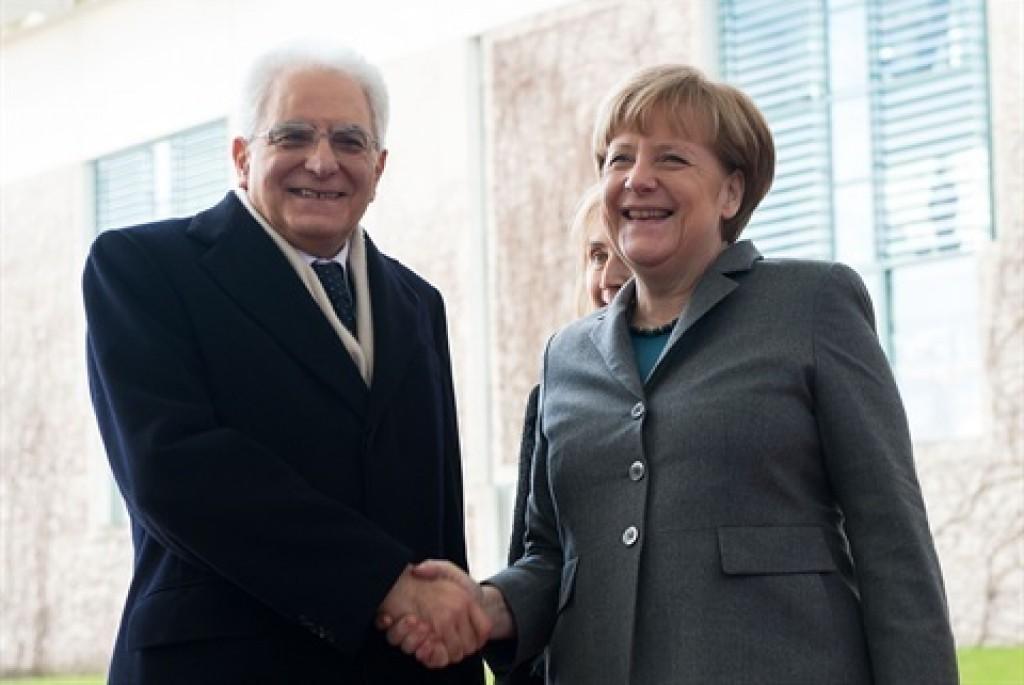Merkel Mattarella