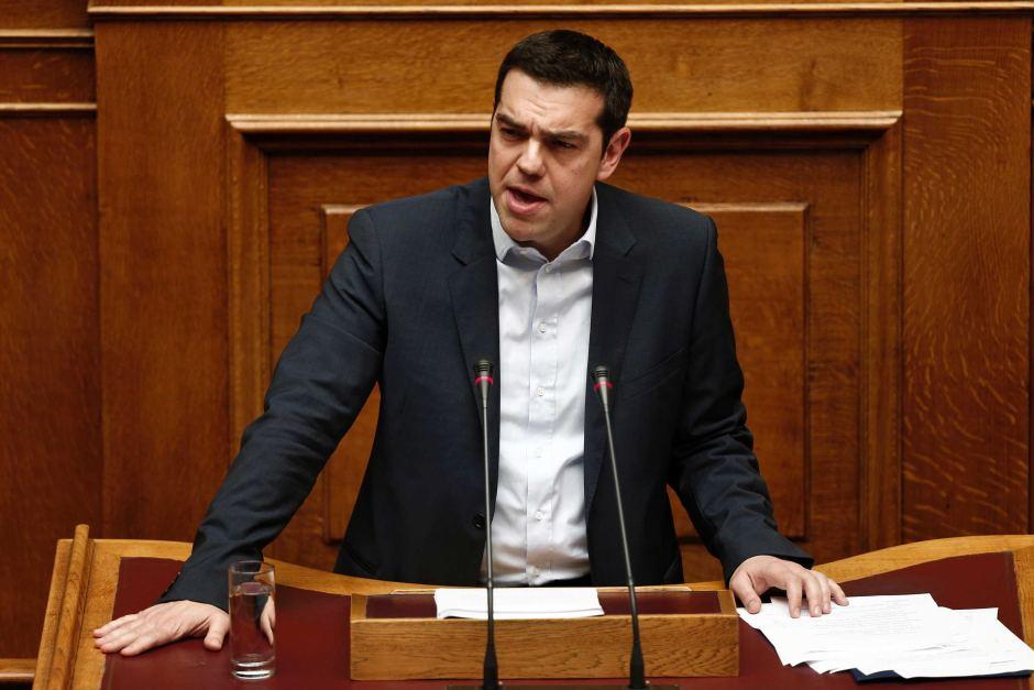 Grecia oggi tsipras porta in parlamento la riforma di iva for Oggi in parlamento