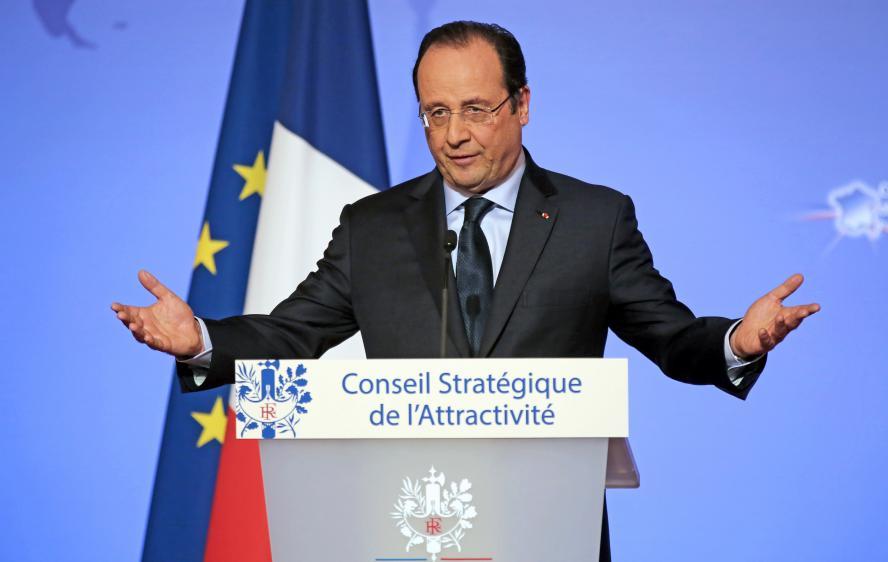 Il presidente francese, François Hollande