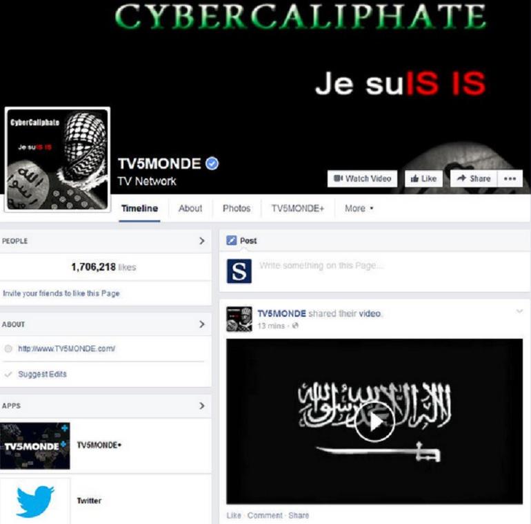 tv5monde hacker ISIS